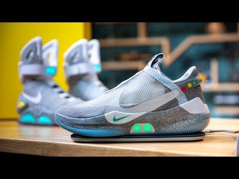 Show and Tell: Nike's Adapt BB Power-Lacing Shoes! - UCiDJtJKMICpb9B1qf7qjEOA