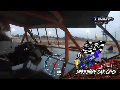 #5 John Briggs - Cash Money Late Model - 5-29-2021 Legit Speedway Park - In Car Camera - dirt track racing video image