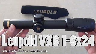 Leupold VX6 1-6x24 réticule illuminé
