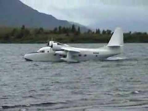 From www.flyalaska.com, Grumman Albatross takeoff and flyby - UCZwP-pC9_L8cRnsRUu-dbiA