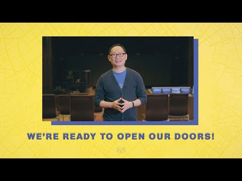 WE'RE READY TO OPEN OUR DOORS!  Cornerstone Community Church