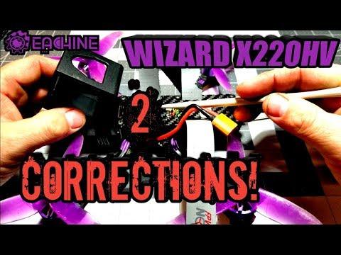 Eachine Wizard X220HV Two Corrections! - UCLE0ux_o8FJJfzEAzk-iYyw