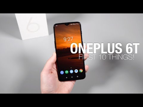 OnePlus 6T: First 10 Things to Do! - UCTGBHncizmXKmgvwwLh8UlQ