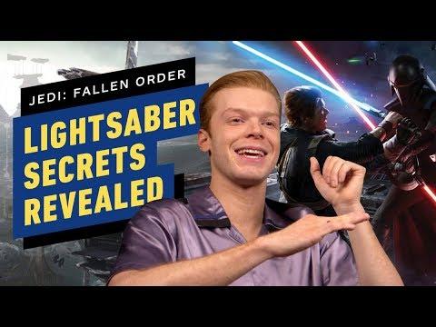 Cameron Monaghan Reveals Secrets of Cal's Lightsaber in Star Wars Jedi: Fallen Order - UCKy1dAqELo0zrOtPkf0eTMw