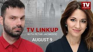 TV Linkup August 9: USD to recoup losses soon (EUR/USD, GBP/USD, USD/CAD)
