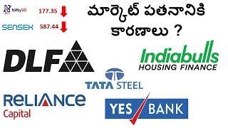 మార్కెట్ ఎనాలిసిస్ , DLF, RELIANCE CAPITAL, YES BANK, INDIABULLS, TATA STEEL