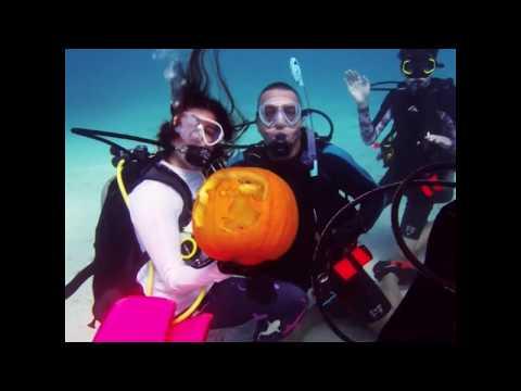 Khắc bí ngô mừng Halloween … dưới biển (VOA)