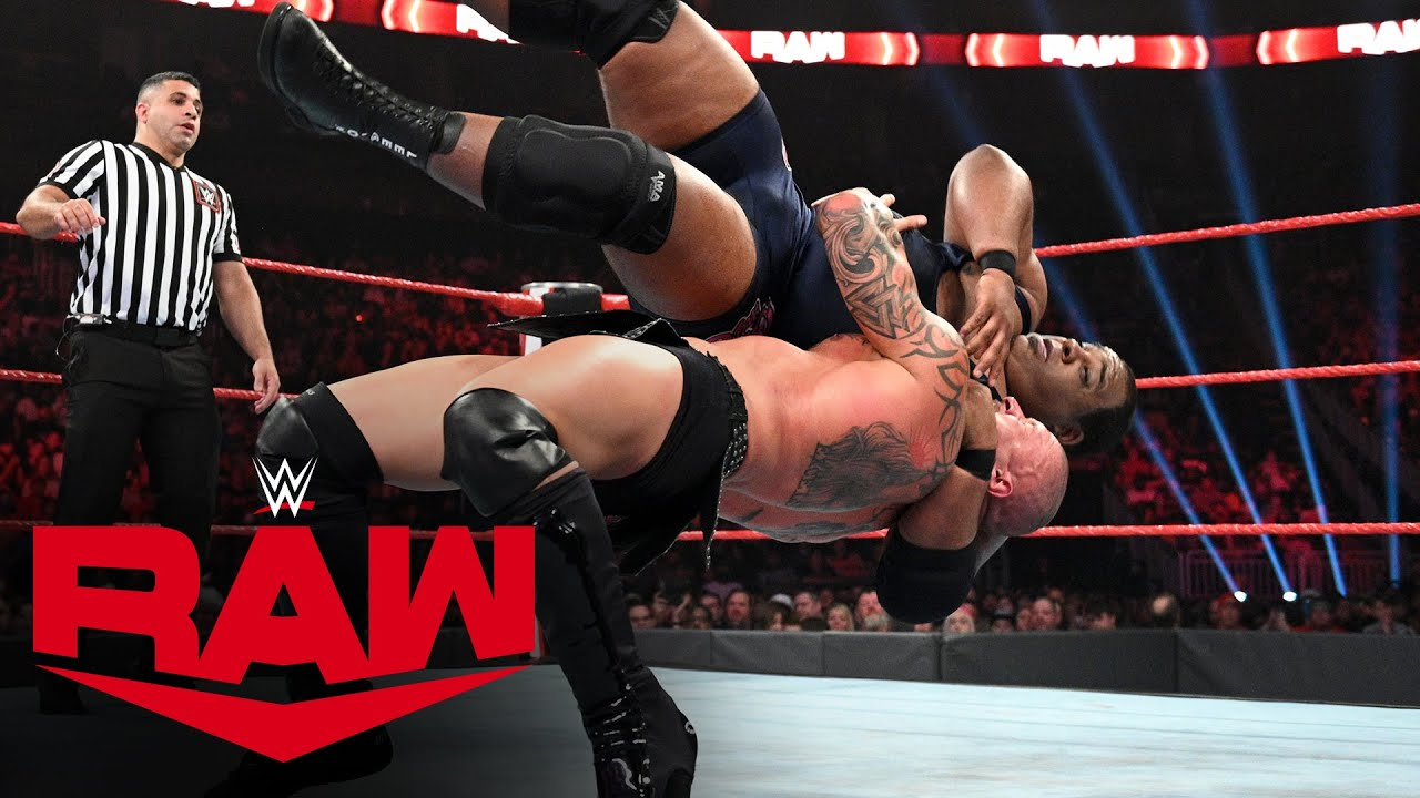 Keith Lee vs. Karrion Kross: Raw, July 26, 2021