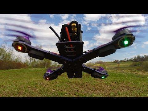 Eachine Wizard X220 FPV Racer Распаковка и Первый Полёт - UCmTxglWIunAi6t_ciyB0kkw