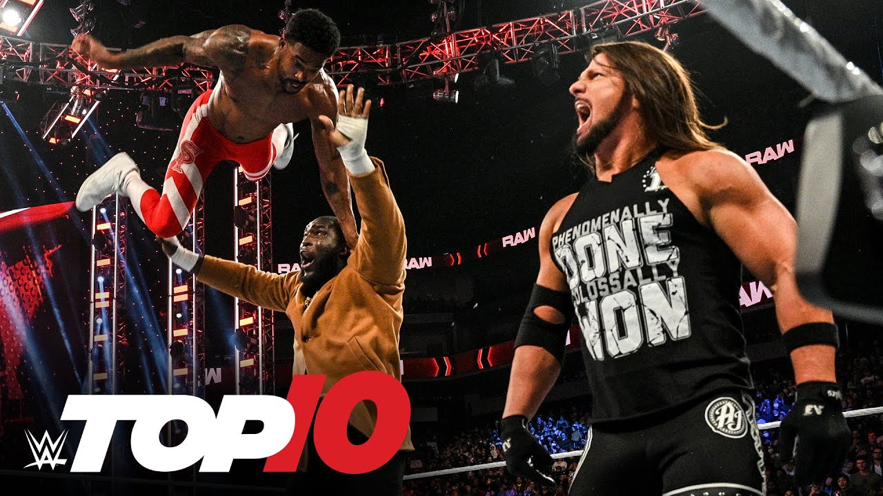 Top 10 Raw moments: WWE Top 10, Oct. 18, 2021