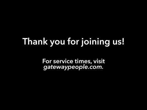 Pastor Robert Morris Gateway Church Live  Feb 29 5:45PM CST