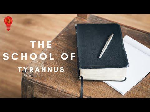 THE SCHOOL OF TYRANNUS  STUDY OF EPHESIANS: LIVING WORTHY OF YOUR CALLING  DAVID OYEDEPO JNR