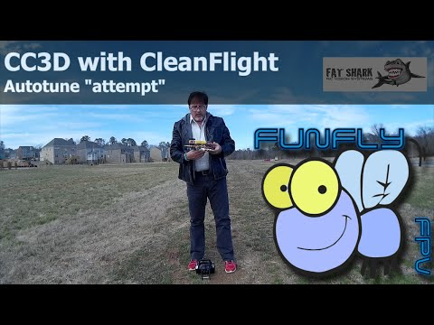 CC3D with CleanFlight - AutoTune - UCQ2264LywWCUs_q1Xd7vMLw