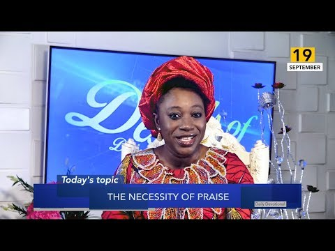 Dr Becky Paul-Enenche - SEEDS OF DESTINY  THURSDAY 19TH SEPTEMBER, 2019