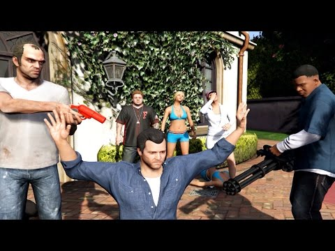 GTA 5 - Ending C / Final Mission #3 - The Third Way