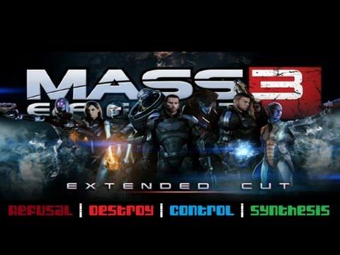 Mass Effect 3: Extended Cut - ALL four full endings - UCmgB4cVBJg79JVr8PVncnlg