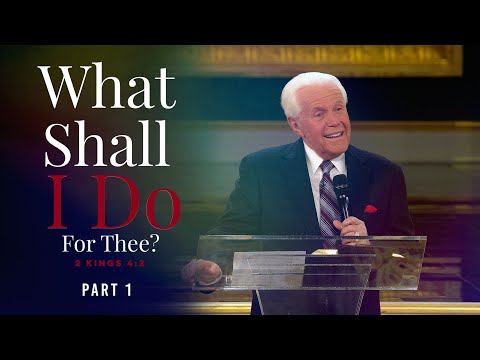 What Shall I Do For Thee? Part 1 Jesse Duplantis