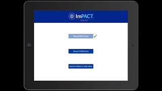 ImPACT Quick Test Enhanced with VOMS and BESS
