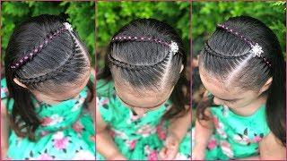 Youtube Peinados Para Ninas Con Ligas Arcoiris Y Trenzas Pegadas