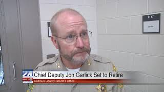 Calhoun County Chief Deputy Set to Retire First of September