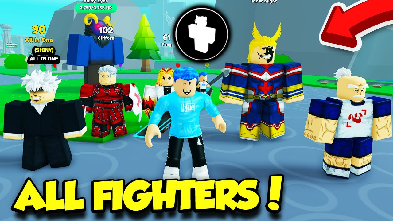 Getting ALL FIGHTERS In Anime Fighters Simulator!! *INSANELY HARD* (Roblox)