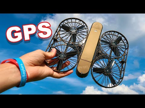 Moment Drone - 4K GPS Selfie Easy To Fly Brushless Motors Folding Arms And More - TheRcSaylors - UCYWhRC3xtD_acDIZdr53huA