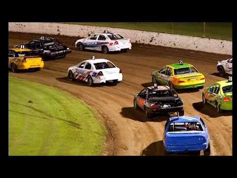 2012/13 Modified Sedans Allstar Series: Lismore Speedway   9th February 2013 - dirt track racing video image