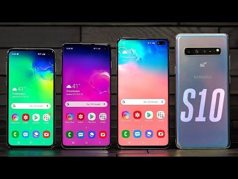 Samsung Galaxy S10 lineup hands-on - UCddiUEpeqJcYeBxX1IVBKvQ