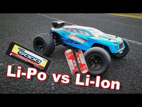 Li-Po VS Li-Ion Batteries - Arrma Fazon Voltage Speed Test - TheRcSaylors - UCYWhRC3xtD_acDIZdr53huA