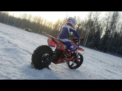 Зимний выезд на мотоцикле SKYRC SR5 Super Rider RC Motorcycle - UCvsV75oPdrYFH7fj-6Mk2wg