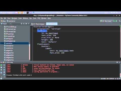 Python GUI Kivy 172  الواجهات الرسومية