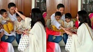 Aishwarya Rai Celebrate Raksha Bandhan With Her Brother Aditya Rai