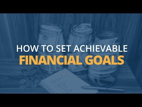 5 Steps to Setting Achievable Financial Goals  Brian Tracy