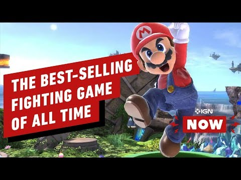 Super Smash Bros. Ultimate Is The Best-Selling Fighting Game Ever - IGN Now - UCKy1dAqELo0zrOtPkf0eTMw