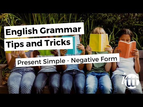 English Grammar -- Present Simple -- Negative Form -- Teacher Pay Overseas
