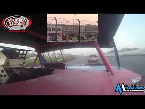 #77 Daniel Harstad WISSOTA Street Stock On-Board @ Madison (10/3/21) - dirt track racing video image