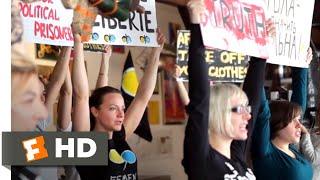 Everyday Rebellion (2014) - FEMEN Training Scene (7/10)   Movieclips