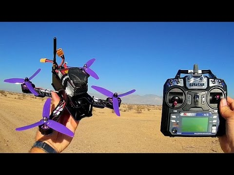 Eachine Wizard X220 FPV Racer Drone Flight Test Review - UC90A4JdsSoFm1Okfu0DHTuQ