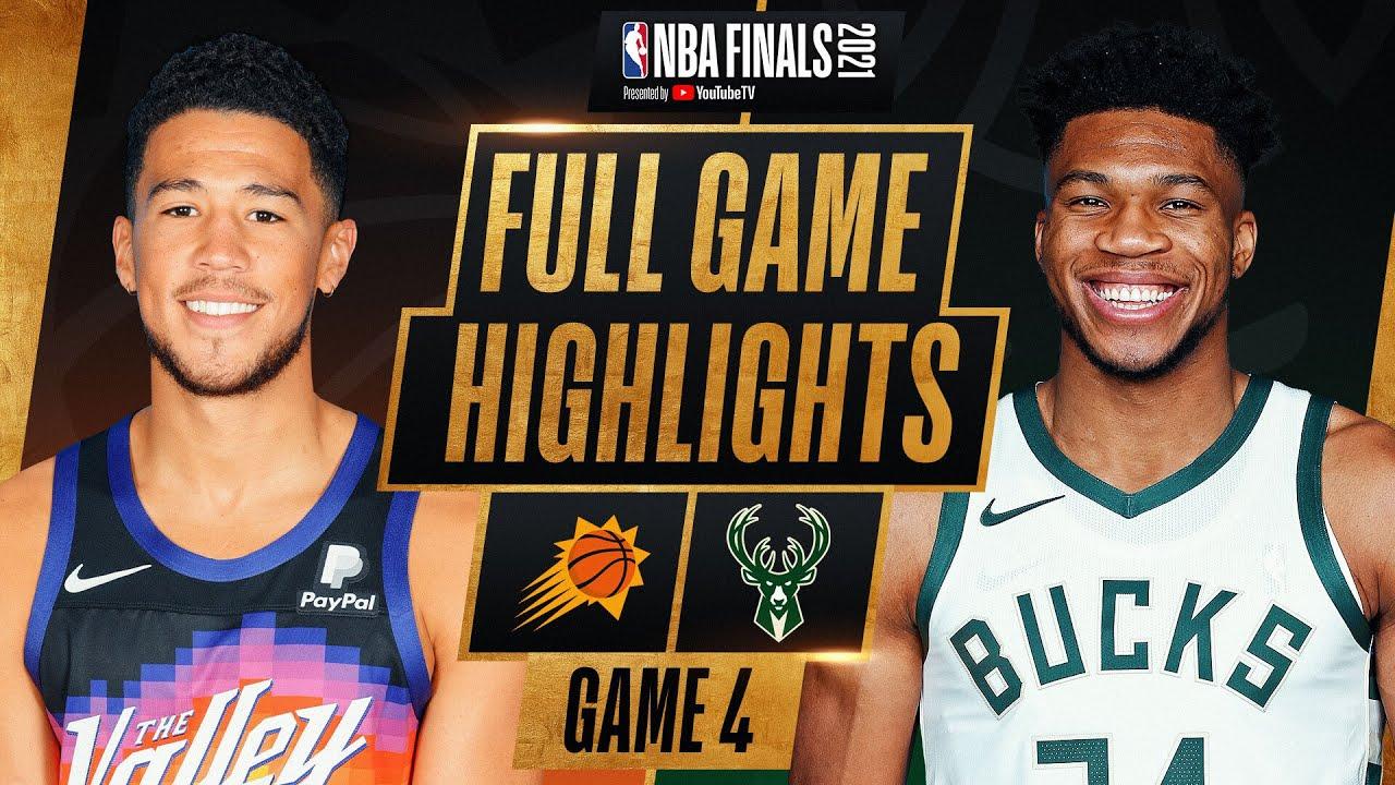 SUNS at BUCKS | FULL GAME 4 NBA FINALS HIGHLIGHTS | July 14, 2021