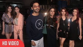 Bollywood Celebrities Spotted at Juhu | Krystle D'Souza, Aparshakti Khurana And Others
