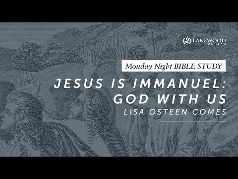 Jesus is Immanuel  Lisa Osteen Comes (2019)
