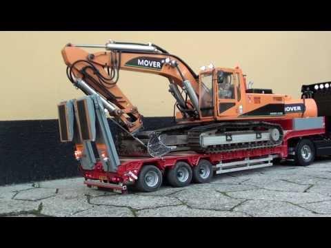 RC Volvo truck transports Excavator - UCOuAAk4yDtZSrn7Ulf3F8Cg