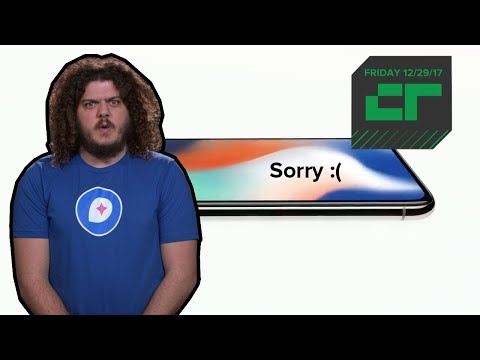 Apple Apologizes for Slowing Down iPhones | Crunch Report - UCCjyq_K1Xwfg8Lndy7lKMpA