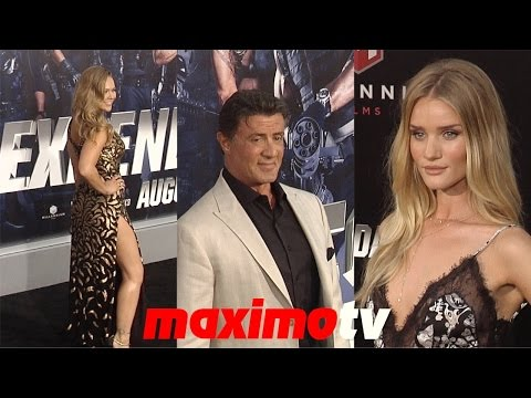"""The Expendables 3"" LA Premiere Sylvester Stallone, Ronda Rousey, Jason Statham, Dolph Lundgren - UCybF_bgvjVTAPIm8HT-TNdQ"