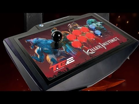 Killer Instinct - Mad Catz TE2 Arcade FightStick Unboxing - UCKy1dAqELo0zrOtPkf0eTMw