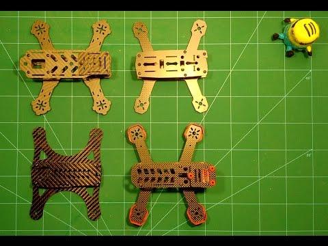 180 Size Quadcopter Frames: Air Hog, ZMR, Lizard & DL180 - UCqY0jY6oEM3hqf2TGScd16w