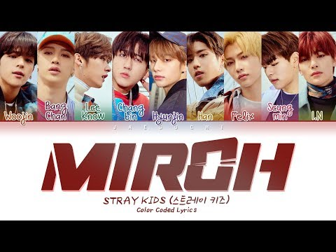 Stray Kids - MIROH (Color Coded Lyrics Eng/Rom/Han/가사) - UCmth4hMyizG-_W9jidBqs_A
