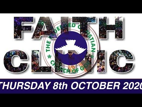 RCCG OCTOBER 8th 2020 FAITH CLINIC