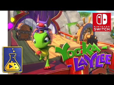 Yooka-Laylee - Nintendo Switch Trailer - default
