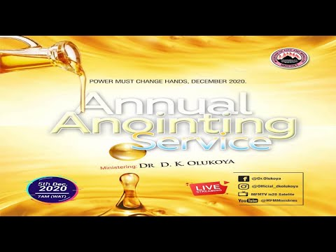 YORUBA  PMCH DECEMBER 5TH 2020  THE ANNUAL GREAT DELIVERANCE AND ANOINTING SERVICE